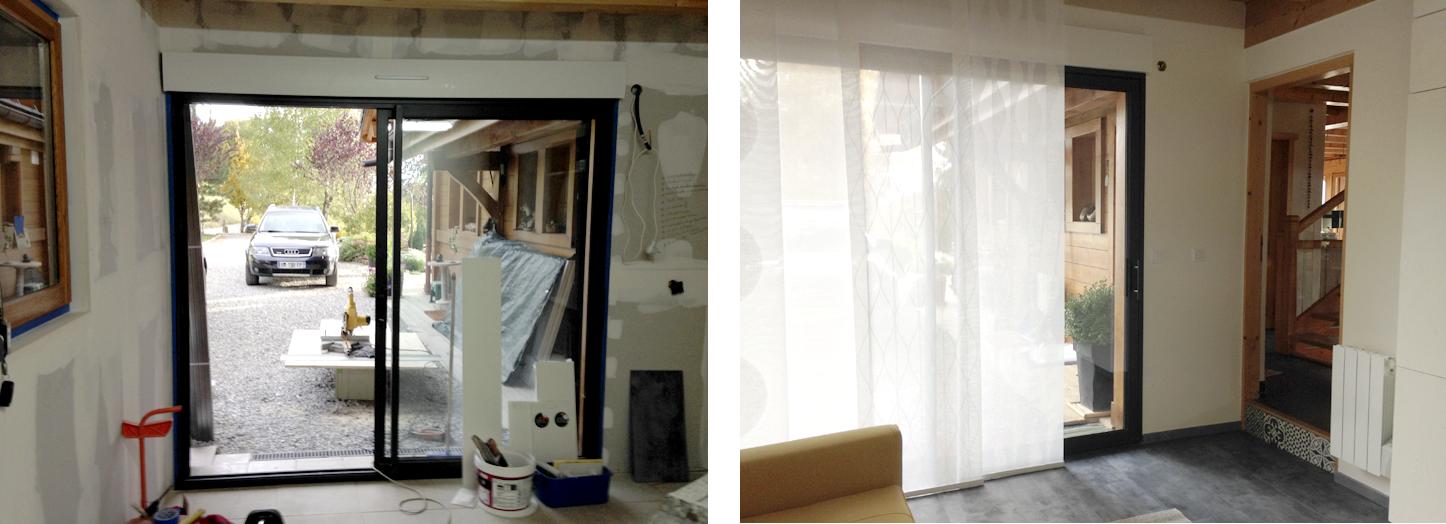 Atoutravaux neuf ou r novation - Baie vitree remplacement porte de garage ...
